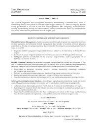 Salon Manager Resume Examples by District Manager Resume Sample The Best Resume