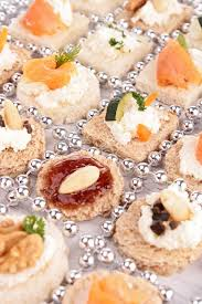 canape toast assortment of canape toast stock photo studiom 31271387