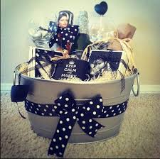 personalized basket personalized engagement gift basket wedding ideas