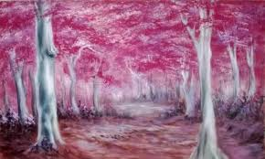 Forest Backdrop Secondhand Prop Shop Theming And Decor Pink Blossom Tree