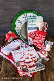 Christmas Cheesecake Decoration - cheesecake love christmas giveaway inside brucrew life