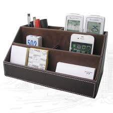 Buy Desk Accessories by Aliexpress Com Buy Kingfom 5 Pcs Modern Upscale Leather Office