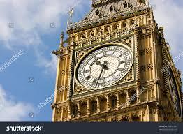 London Clock Tower Closeup Clock Face Big Ben London Stock Photo 98304368 Shutterstock