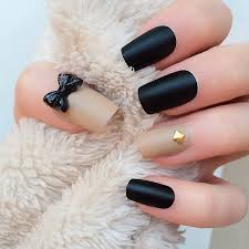 50 cute bow nail designs bow nail designs bow nail art and black