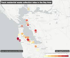 Crime Map Oakland Waste Management Recology Use Different Strategies To Raise Rates