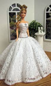 622 best barbie doll bridal gowns u0026 dresses 2 images on pinterest