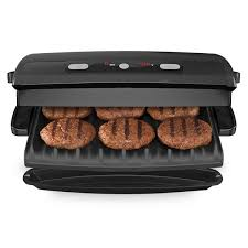 Sandwich Toaster With Removable Plates 6 Serving Removable Plate U0026 Panini Grill Black George Foreman