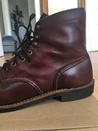red wing red wing iron ranger oxblood mesa boot size 10 last drop