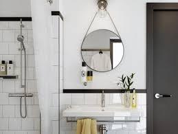 bathroom round mirror round bathroom mirror inspirations shopping picks apartment therapy