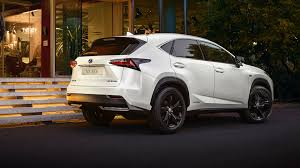 lexus truck nx lexus nx adds sporty trim model in paris