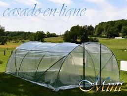 serre tunelle de jardin serre tunnel de jardin casado mini renforcé 2 façades avec porte