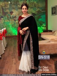 Buy Samantha Bollywood Replica Green Shree Devi Black And Maroon Bollywood Replica Saree