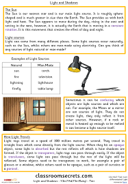 light and shadows y3m y4d y5e guided reading pack classroom