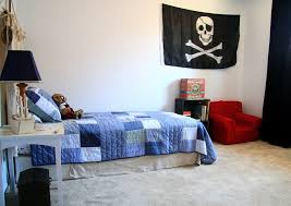 Decorate Boys Room by Bedroom Blue And Red Boys Room With Pirate Accessories Boys