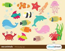 ocean creatures clipart clip art library