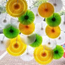 hanging paper fans 18 best tissue paper honeycomb fans paper pom wheel fans images