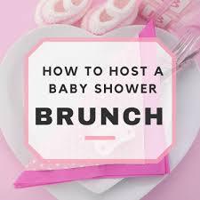 baby shower brunch ideas u0026 sample menu