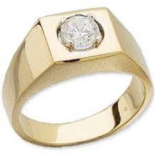 mens gold diamond rings mens solitare diamond rings k gold men s solitare ring cts