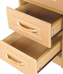 Office Tables In India 2 Drawer Computer Table In Natural Finish Buy 2 Drawer Computer
