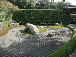 Rock Garden Zen The Terraces Walls Stairs And Fences In The Tsubo En Zen Garden