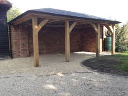 Carport Designs Oak Car Port Oak Frame Guide Oakframe Carport Proyectos Para