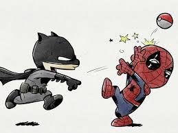 batman vs spider man by dane draws dribbble