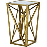 Quatrefoil Side Table Amazon Com Innerspace Luxury Products Quatrefoil Tray Side Table