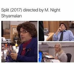 M Night Shyamalan Meme - oscar goes to michael scott memebase funny memes