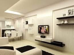 modern small house minimalist living room furniture