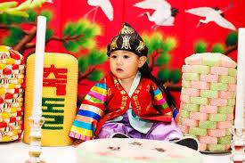 korean birthday baby hudson 1st birthday korean doljanchi baby dol