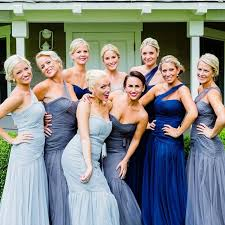blue gray bridesmaid dresses blush grey dresses from bridesmaid lhullier blush