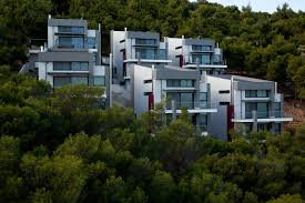 stunning modern design housing project in athens greece