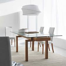 20 ways expandable glass dining table