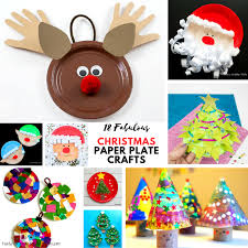 happy everything plates fabulous paper plate christmas crafts arty crafty kids