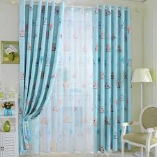 Kids Bedroom Blackout Curtains Aliexpress Com Buy 2015 Cartoon Owl Shade Blinds Finished Window