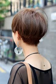 short hairstyle back view images short hairstyles back view hairstyles ideas