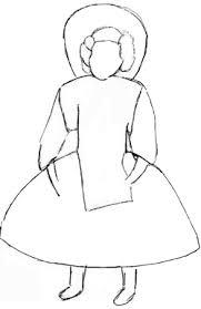 draw doll draw step step