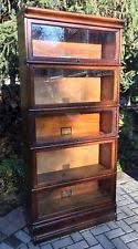 Lawyers Bookcase Antique Bookcases 1900 1950 Ebay