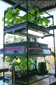Greenhouse Lights Grow Light Shelving For Seed Starting Indoors Garden Therapy