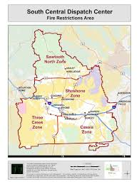 Current Wildfire Map Idaho by Idaho Fire Information South Central Fire Restrictions Area