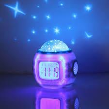 Schlafzimmer Temperatur Baby Musik Wecker Kinder Baby Room Sky Projektor Lampe Schlafzimmer