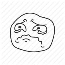 Smiling Crying Face Meme - crying derp emotion funny meme sad sad face icon icon