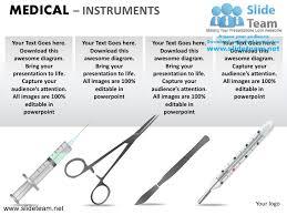 medical doctor heart thermometer scissor instrument powerpoint presen u2026
