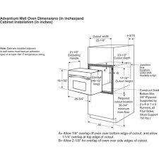 wall oven cabinet width k750hs gif 1341 1062 standard of furniture pinterest