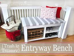 entryway bench images with fabulous entry bench building plans