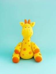fondant giraffe cake topper giraffe birthday cake topper giraffe