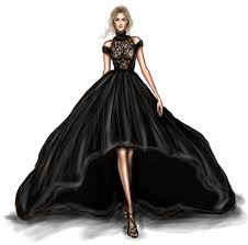 pictures sketch of a with a pretty dress drawing art gallery
