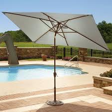 amazon com adriatic 6 5 ft x 10 ft rectangular market umbrella