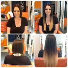 Human Hair Extensions Nz by Ombre Tape Hair Extensions 18