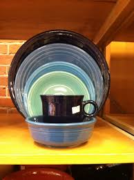 Fiesta Kitchen Canisters Fiestaware Blues Cobalt Lapis Peacock And Turquoise